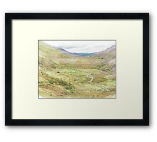 Snowdon Framed Print