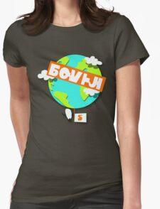 Splatfest Team South Pole v.4 Womens Fitted T-Shirt