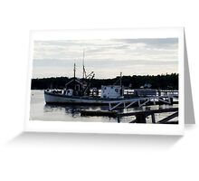"Boothbay Harbor ""Vessel"" Greeting Card"