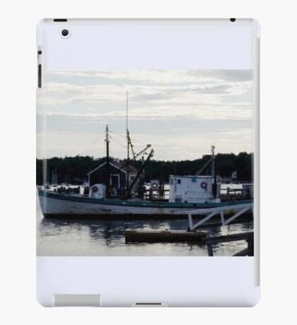 "Boothbay Harbor ""Vessel"" iPad Case/Skin"