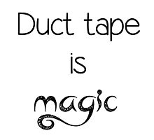The Martian Duct Tape Quote Photographic Print