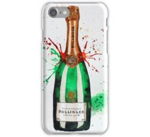 Bollinger Champagne Bottle iPhone Case/Skin