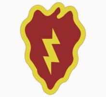 Logo of the 25th Infantry Division Baby Tee