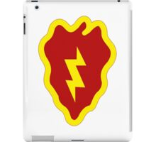 Logo of the 25th Infantry Division iPad Case/Skin
