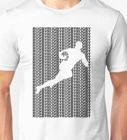 Rugby Player with Ball 2 Unisex T-Shirt