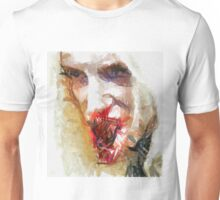 Face of a Vampie by Sarah Kirk Unisex T-Shirt