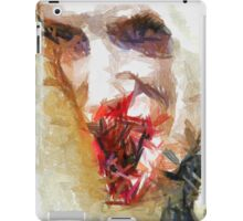 Face of a Vampie by Sarah Kirk iPad Case/Skin