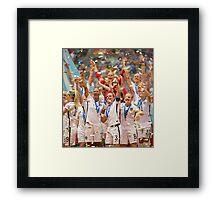 Womens World Cup 2015 Framed Print