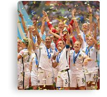 Womens World Cup 2015 Canvas Print