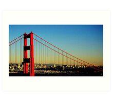 Golden Gate Bridge - San Francisco (USA) Art Print