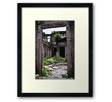 Old Building Framed Print
