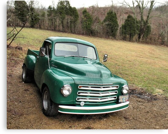 """Studebaker Truck: Put Out to Pasture .... 'til the Next Ride""... prints and products by © Bob Hall"