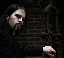The Dark Priest by Jean M. Laffitau