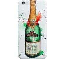 Vintage Bollinger Bottle iPhone Case/Skin