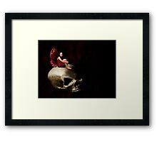 Gothic Fairy Framed Print