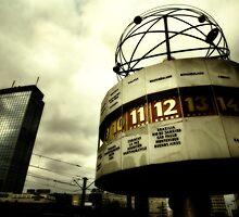 Berlin, Weltzeituhr  by Reinvention