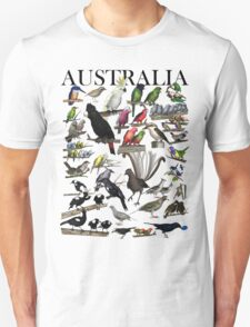 Birds of Australia 1 Unisex T-Shirt