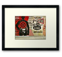 May Day, New York City Framed Print