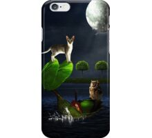 The Owl And The Pussycat.... iPhone Case/Skin
