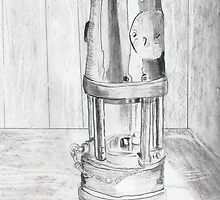 old oil lamp by snowhawk