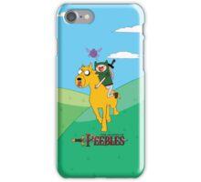 the legend of peebles iPhone Case/Skin