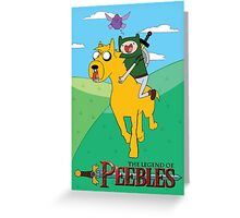 the legend of peebles Greeting Card