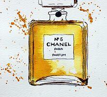 Chanel No. 5 Perfume Bottle by CroftLake