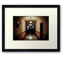 Inside the Chelsea Hotel, Manhattan Framed Print