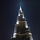 Burj Khalifa Light by Tony Walton