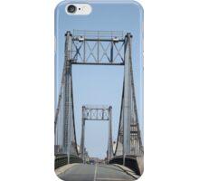 Bridges across the Loire River, France iPhone Case/Skin