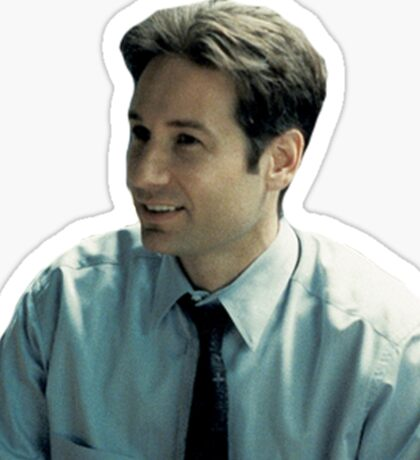 Fox Mulder Sticker