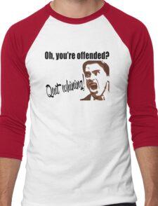 Quit Whining Men's Baseball ¾ T-Shirt