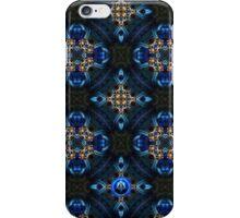 Kaleidoscope Golden Blue iPhone Case/Skin
