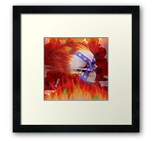 FLAMIN REMEMBERANCE Framed Print