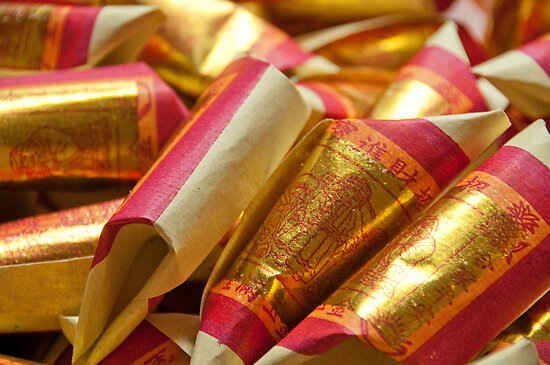 Paper Money (Joss Paper) by palmerphoto