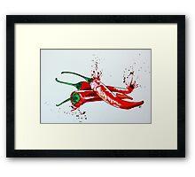 Red Hot Chilli Pepper Framed Print