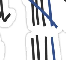 Chloe's Decal -Tally Marks from the Junkyard Sticker