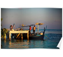 Local fishermen Poster