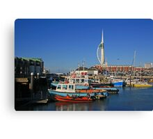 Old Portsmouth Harbour Canvas Print