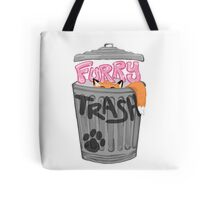 Furry Trash (Fursuit & Sparkle Edition) Tote Bag