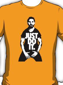 """Shia Labeouf """"JUST DO IT"""" T-Shirt"""