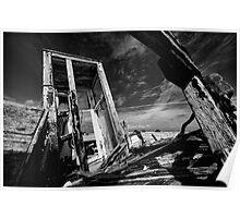 Dungeness Wreck Poster