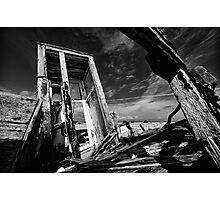 Dungeness Wreck Photographic Print