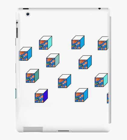 rose cubes iPad Case/Skin