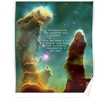 Hitchhiker's Guide Quote Poster