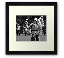 Mustering the Troops Framed Print