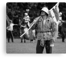 Mustering the Troops Canvas Print