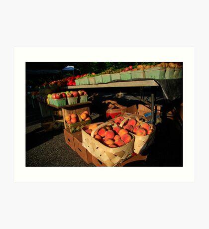 Farmers Market Series Art Print