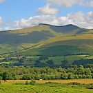 Brecon Beacons, Pen-y-Fan and Corn Du by RedHillDigital