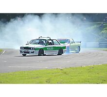 Police Car Chase! Photographic Print
